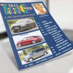 couverture du Taximag magazine du mois septembre 2015