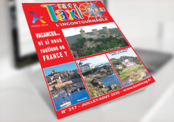 Magazine taxis Taximag Juillet aout 2020