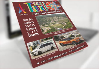Magazine Taxis Taximag septembre 2020